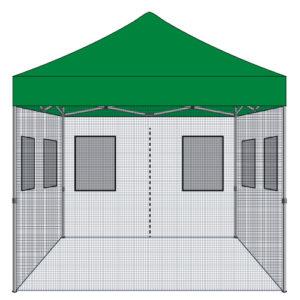 10x10 Food Vendor Tent Kit